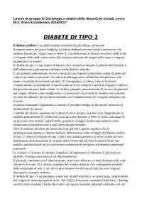 Lavoro di gruppo sul diabete