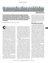 coloides- tipos coloidal