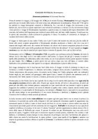 """Riassunto libro """"Viaggio in Italia"""" Montesquieu"""