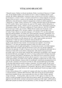 Riassunto Vitaliano Brancati