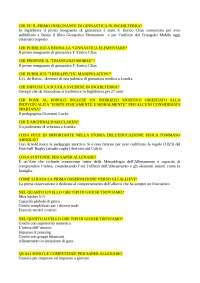 Domande aperte Didattica degli Sport Individuali Ecampus