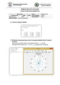 Primera Practica calificada de Métodos Numéricos