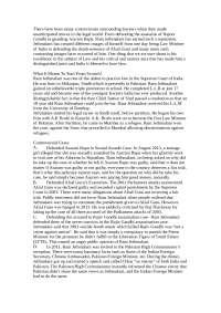 A short document on Ram Jethmalani