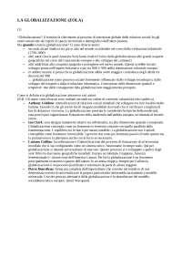 LA GLOBALIZZAZIONE ZOLA CAP. 1