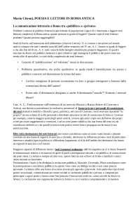 Mario Citroni, Poesia e lettori in Roma antica
