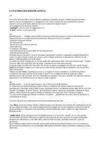 LA GLOBALIZZAZIONE ZOLO CAP. 2