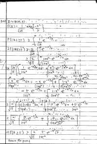 Homework Solution for Statistics