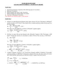 Fluid mechanics d203