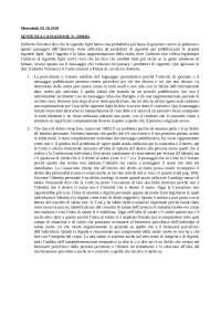 analisi di alcune sentenze fatte dal prof Pucella