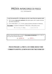 """Pegaso_Prova intercorso di Fisica V2_21 """"Elettromagnetismo"""""""