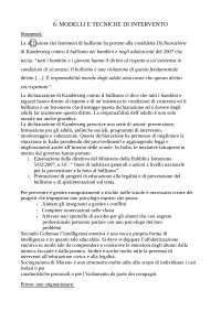 """Riassunto del libro """" Bullismo"""" aspetti giuridici, teorici e tecniche di intervento"""