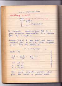 Notes on Computer graphics subject Btech