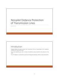 nonpilolt distance orotection pdf