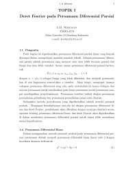 Mathematics engineering