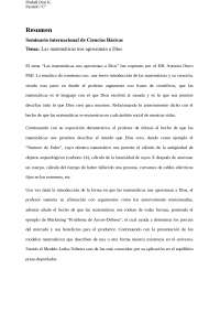 Seminario internacional de Ciencias Básicas