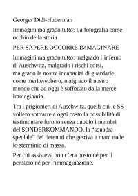 IMMAGINI MALGRADO TUTTO