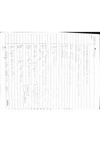 Numerical Method Notes