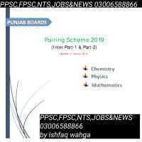 paring scheme fsc 11 &12