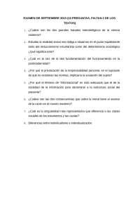 EXAMEN DETALLADO DE LA ASIGNATURA DE ESTRUCTURA SOCIAL