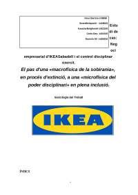 Treball etrnografia IKEA