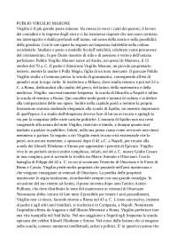 virgilio, letteratura latina - docsity  docsity