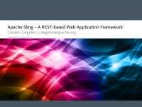 Apache Sling API and Usage