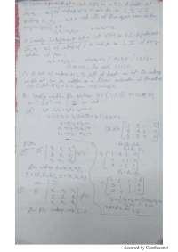 Lecture notes on row and column spaces
