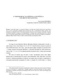 """O """"LEITOR IDEAL"""" DA EPÍSTOLA 1.2 DE SÊNECA: UMA BREVE METALEITURA"""