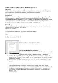 Industrial Organization 2 (notes)