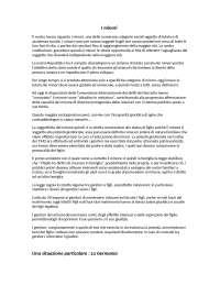 Tesina sui minori approfondita, Past Exams for Psychology