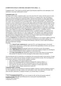Industrial Organization (notes)