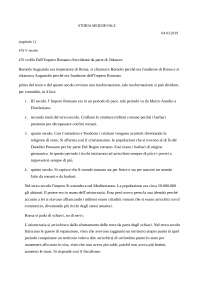 Storia - Riassunto Scienze pedagogiche c.i.