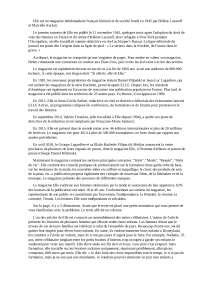 История журнала elle