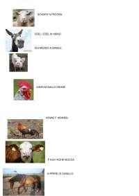 Animali della fattoria in tedesco