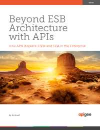 Beyond ESB Architecture with APIs