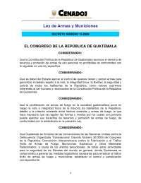 leyes especiales del derecho guatemalteco