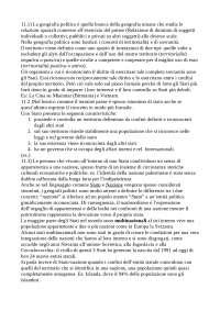 Capitolo 11 Geografia Umana Greiner, De Matteis, Lanza