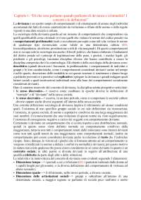 Devianza e criminalità. Concetti, metodi di ricerca, cause politiche- F. Prina, Summaries for Sociology of Crime and Punishment