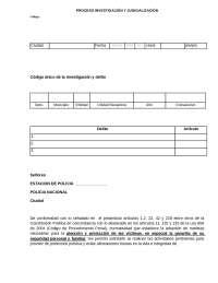SOLICITUD DE MEDIDA DE PROTECCIÓN POLICIA NACIONAl