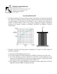 Ejercicio de Mecanica de materiales
