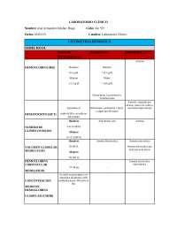 Valores de referencia de laboratorio clínico