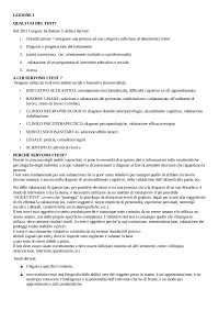 metodi e tecniche dei test