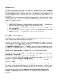 Esercitazioni Italiano per la Comunicazione