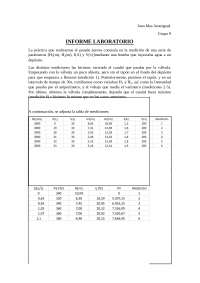informe laboratorio mecanica fluidos