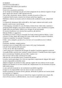 Appunti di psicologia dinamica