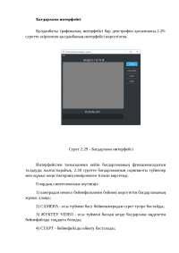Бағдарлама интерфейсі
