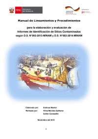 manual de trabajo en minagri