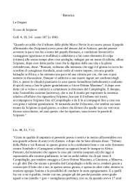 Traduzioni di Retorica Latina