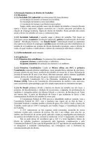 Direito do Trabalho introdução