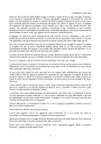 Appunti completi Contratti di Lavoro (con integrazionedecreto dignità)-Lezioni del Prof Bollani